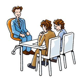 中途採用試験の面接で、扉を開けると学生時代の友人が座っていた