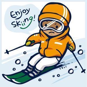 スキー場でリフトに乗っていた時突風でリフトから落ちた・・・