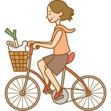 自転車こいでたお姉さんが、曲がってきた車にぶつかって数m吹っ飛んだ!!