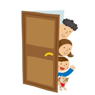 朝5時に友人のアパートの鉄扉をガンガンしてたら、隣の家だった・・・。