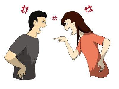 男と女で殴り合いの決闘をし、その後結婚した二人の友人の話。