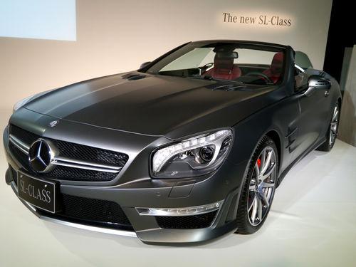新型 ベンツ SLクラス AMG