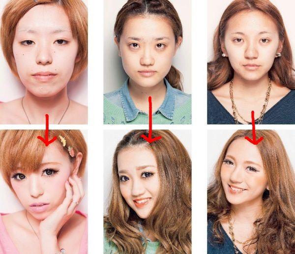 【話題】女子の整形級メイク、ビフォーアフターの驚愕
