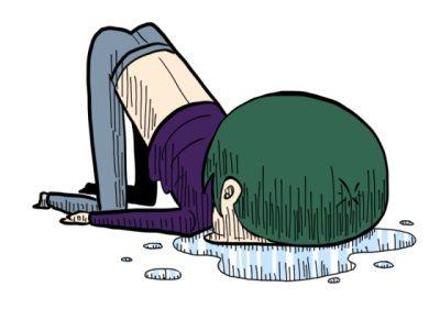 家の庭に侵入して悪さしてた餓鬼が転んで脳震盪 → モンペ親『責任とれ!』