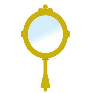 手鏡(イラスト)