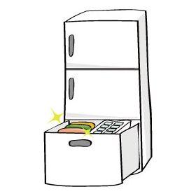 義実家の冷蔵庫の中身がカオスすぎて食事が怖い…