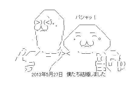 記念写真 AA(アスキーアート)