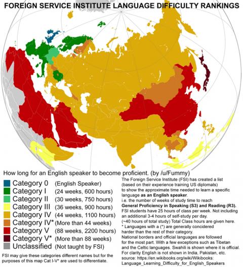 【言語】米国務省『世界で最も難しい言語は日本語でした』