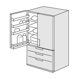 冷蔵庫を覗いたら、自動製氷器の給水タンクがとんでもない事になっていた…