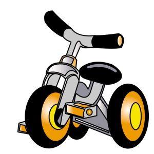 スーパーで娘のお気に入りの三輪車を盗まれそうになった