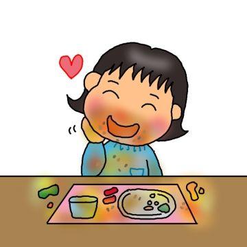 お弁当のおかずを強奪した問題児Aちゃんと、それを見て大爆笑のA母