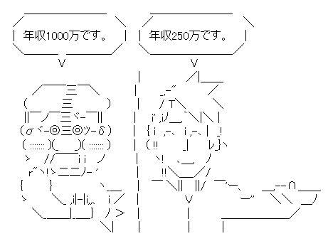年収1000万(キモメン) VS 年収(イケメン)【