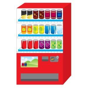 ジュース販売機