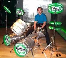 heineken-drum