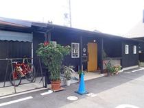 店前自転車置き場