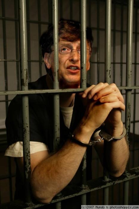 ビルゲイツ 逮捕