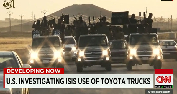 ISIS-Toyota-trucks-US-weapons-and-supplies