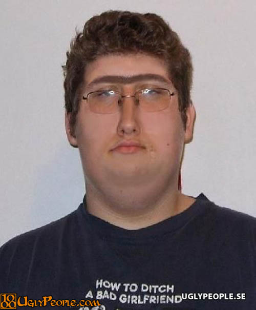 A-Big-Eyebrow-Weird-And-Ugly-Guy
