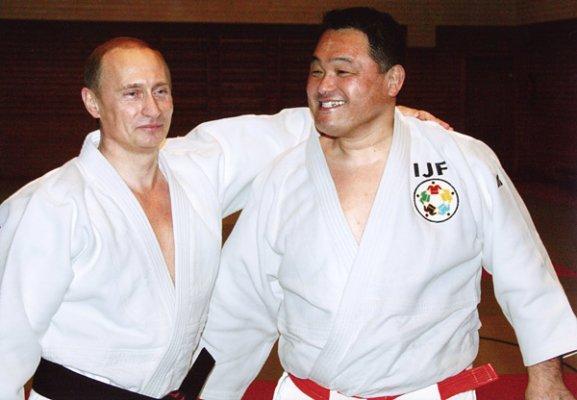 海外「たぶんプーチンは世界で一番強い大統領かも知れない(笑)」 2014JYUDO. 柔道家プーチン