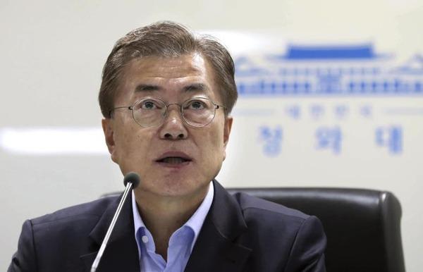 Moon-Jae-In-beruft-nationalen-Sicherheitsrat-ein