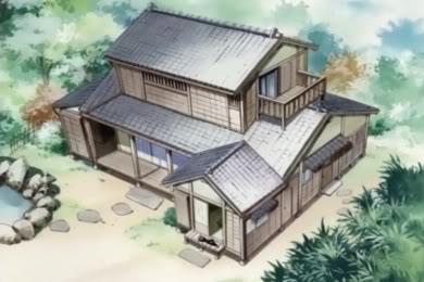 エルフェンリートで出てくる家もこういう家だったよね。