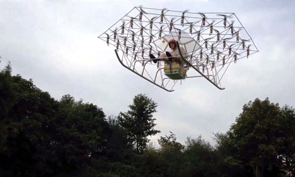 First-flight-of-the-Swarm-manned-multirotor-Super-Drone-1