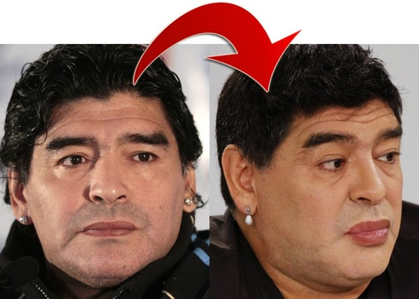 diego-maradona-before-after