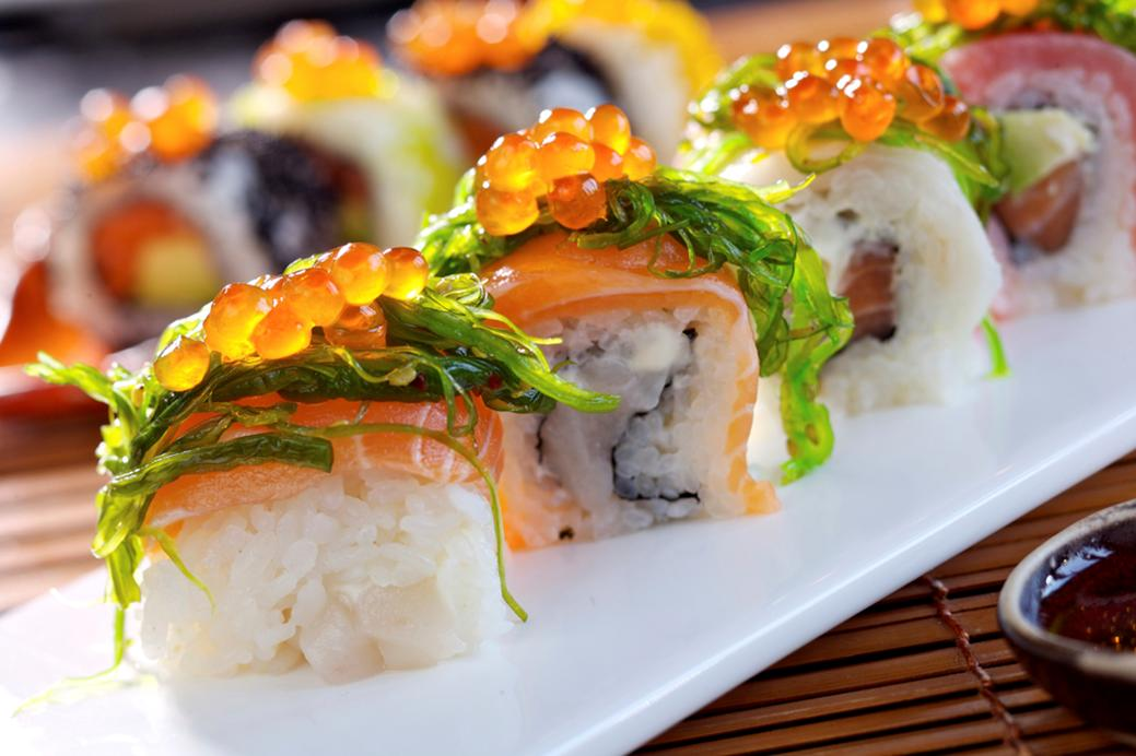 sushi beautiful fish food - photo #1
