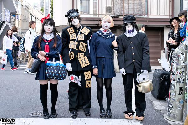 Harajuku-Shironuri-Fashion