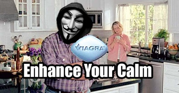 Anonymous-Takes-Down-Viagra-Ad