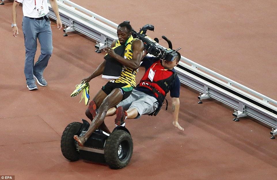 ウサイン・ボルト、中国人カメラマンにセグウェイで轢かれて負傷! 海外の反応。