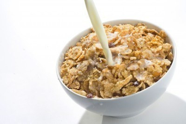 4140135-bowl-of-cereal-with-raisins-and-milk-isolated