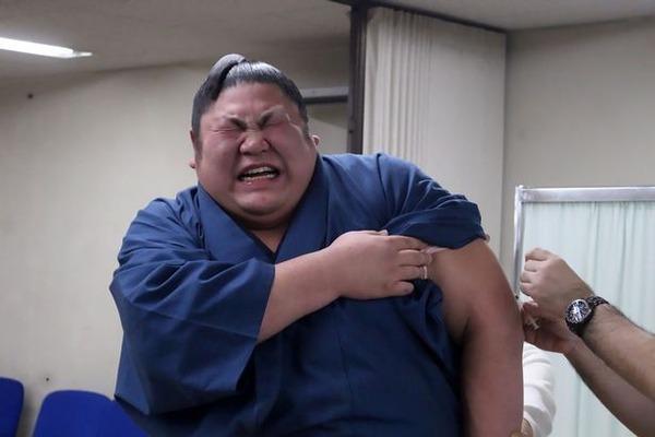 外国人「日本の相撲取りが注射されて泣いてるぞ(笑)」 注射を嫌がる日本の力士が話題に!