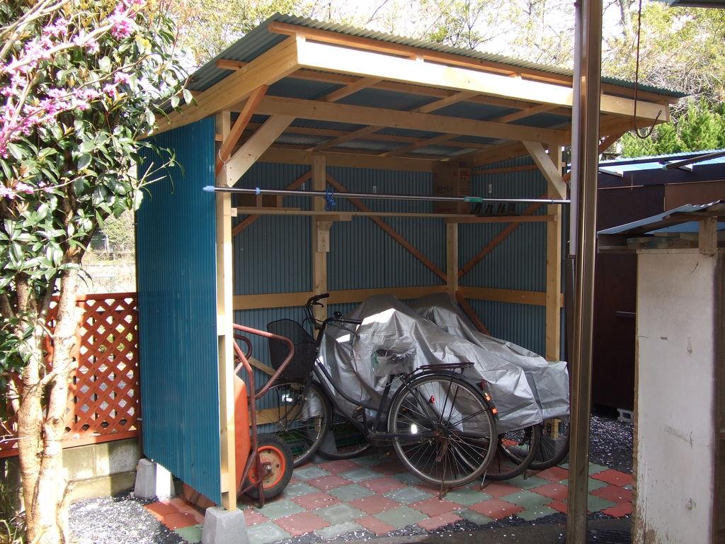 自転車置き場 diy